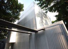 *반투명 플라스틱 골판넬을 이용한 경제적 리노베이션 [ 20.87 ] Building Tilelamp at Casa do Lado :: 5osA: [오사]