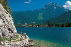 Lake Wolfgangsee, Austria   Holidays at Lake Wolfgang - Lake District - Wolfgangsee Lake