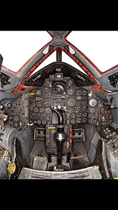 Lockheed Blackbird: I love this cockpit. The outside of the Blackbird is so futuristic but the inside is straight out of the Ah 64 Apache, C 130, Aviation Technology, Aviation Humor, Military Jets, Military Aircraft, Stealth Aircraft, Sr 71 Cockpit, F22 Raptor