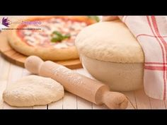 """Pizza dough - Italian recipe from Giallo Zafferano...this is very good! Use the LOWER amounts annotated! one batch will make two 16"""" pizzas I think"""