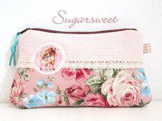 """RV Handytasche  ஜ۩۞۩ஜ """"sweet Oldtime"""" von sugarsweet auf DaWanda.com"""
