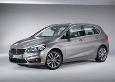 2015 BMW 2 Active Tourer model uses a new modular platform