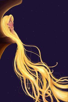 Rapunzel. Disney princess.  creative. art. beautiful. Fashion. #ForeverEileen