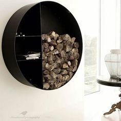 Vedkurver med lekkert design   Peiser og ovner   Energi og varme  