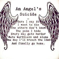 An Angels's Suicide