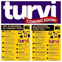 Over 10,000 people have gotten on the list in the last 5 days. Sign up to be notified of the launch of TurviTV and save on the $50 activation fee. Turvi is changing the television game offering live, local, and on-demand TV at home and on mobile devices at a fraction of the cost of cable and satellite.
