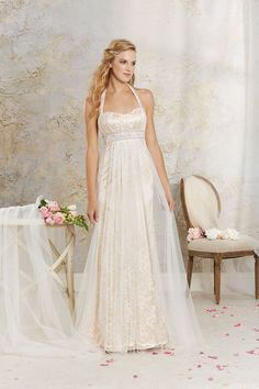Gown by Alfred Angelo Modern Vintage