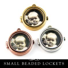 Small Locket Beaded - SLB Nunn Design – Annie Howes