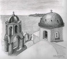 dibujos a lapiz de paisajes (1)