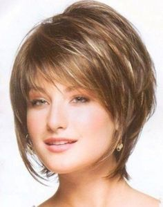 short layered hairstyles fine hair - Marvelous Best Layered Bob Haircuts, 28 Best New Short Layered Bob Hairstyles Popular Haircuts with Regard to Exclusive Best Layered Bob Haircuts Bob Haircut For Fine Hair, Bob Hairstyles For Fine Hair, Short Hairstyles For Women, Layered Hairstyles, Glasses Hairstyles, Trendy Hairstyles, Wedge Hairstyles, Haircut Short, Choppy Hairstyles