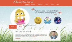 Gollywood's first website was so cute! You Can Do Anything, Say You, First Website, You Working, Small Towns, Work Hard, Childrens Books, Author, Sayings