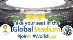 #FIFA World Cup Digital Campaign Plays Up #Mobile and #SocialMedia.