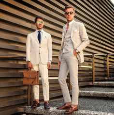 Filippo Fiora and Filippo Cirulli two stylish dappers and their TheThreeF fashion blog