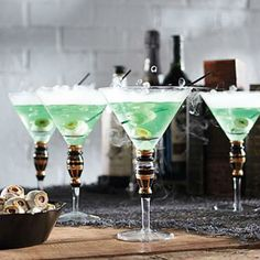 COOL tricks for Halloween drinks!