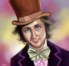 Willy Wonka - Gene Wilder by DaveJorel.deviantart.com on @DeviantArt