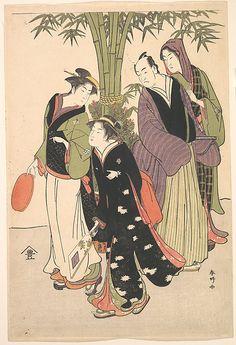 Katsukawa Shunkô  (Japanese, 1743–1812)  Period: Edo period (1615–1868) Culture: Japan Medium: Polychrome woodblock print; ink and color on paper