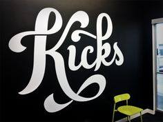 Discover more of the best Signwriting, Typeverything, Zack, Davenport, and Type inspiration on Designspiration Typography Quotes, Typography Letters, Graphic Design Typography, Lettering Design, Lettering Art, Handwritten Type, Script Type, Calligraphy Words, Weird Words