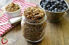 Healthy Sugar Free Granola Recipe