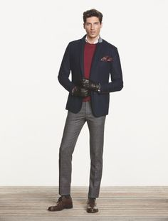 H.E. by Mango Winter 2013-2014 Men's Casual Look (28)