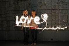 I've always been a huge fan of sparklers. After recently buying a tripod and a remote, I wanted to practice sparkler photography with my DSLR. I've listed to settings that I used