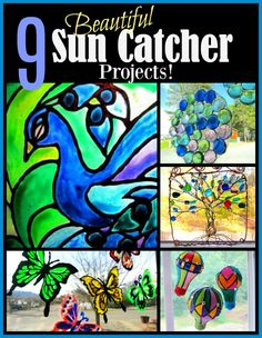 Bring on the Sun! 9 Pretty Sun Catcher Projects!