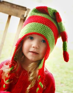 Ravelry: Christmas Elf Hat pattern by Melissa Bastow