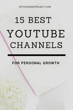 15 Best Self-Improvement Youtube Channles
