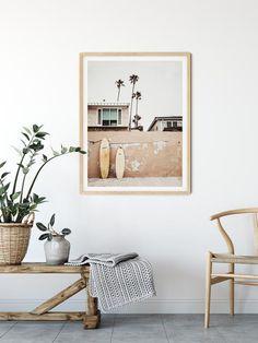 Boho Surf Digital Print,Beach Wall Art,California Print,Printable Wall Art Welcome to Wall&DecoPrintStore! Printable wall art is the more easy and affordable wa Surf Decor, Decoration Surf, Beach Wall Decor, Surf Style Decor, Surfboard Decor, Plage Art Mural, Deco Surf, Style Californien, Home Interior
