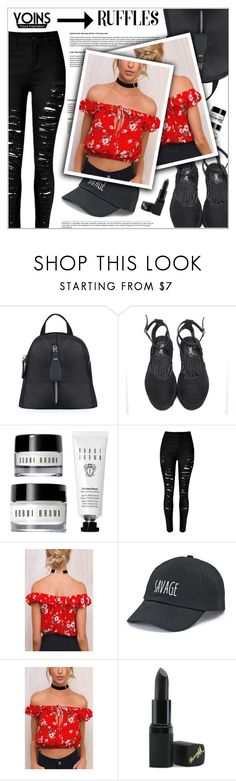 """""""Yoins"""" by shambala-379 ❤ liked on Polyvore featuring SO, Barry M, yoins, yoinscollection, loveyoins and ruffledtops"""