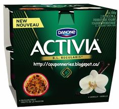 Coupons et Circulaires: 1,99$ DANONE (8 x 100g)