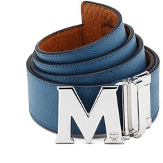 MCM Claus Reversible Belt ($295) ❤ liked on Polyvore featuring men's fashion, men's accessories, men's belts and mcm mens belt