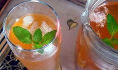 My house is clean but just for fun: Tea Punch (Iced Tea)