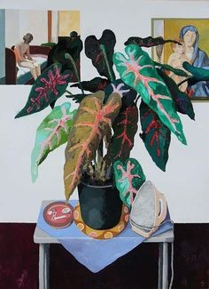 erik mattijssen Painting Inspiration, Art Inspo, Collaborative Art, Plant Illustration, Paintings I Love, New Wall, Flower Art, Painting & Drawing, Cool Art