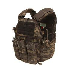 Multicam Black Plate Carrier - Doug' Trench London Bridge Trading Inc. Police Gear, Military Gear, Tactical Survival, Tactical Gear, Plate Carrier Setup, Assault Vest, Tac Gear, Combat Gear, Chest Rig