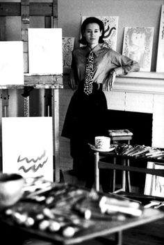 Gloria Vanderbilt, photo by Jerry Schatzberg.