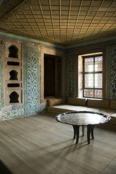 Apartments of the Queen Mother - Topkapı Palace - Istanbul, Turkey