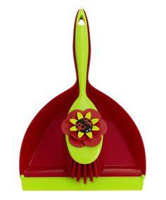 Ladybug Dustpan & Brush Set