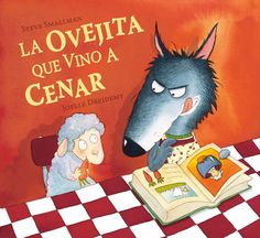 La ovejita que vino a cenar / The Little Lamb that Came to Dinner (Spanish Edition) (Cuentos infantiles) I Love Books, Good Books, Kindergarten Library, Spanish Pictures, Spanish Art, Joelle, Kids Story Books, Lectures, Children's Book Illustration