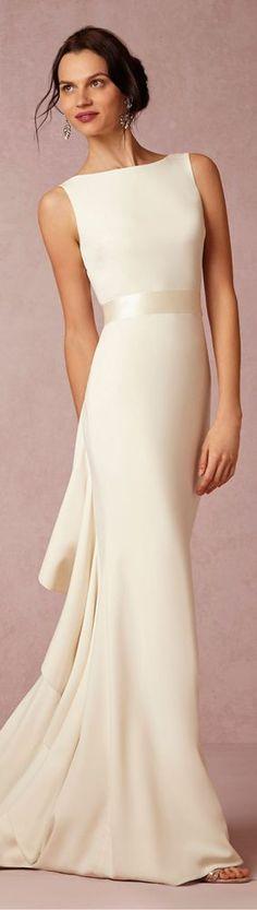 Badgley Mischka ¡Hermoso vestido de novia! Para salir de lo convencional.