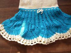 Baby Kleid detail Rock