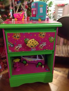 Shopkins bedside table