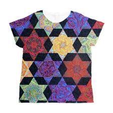 jewish star Women's All Over Print T-Shirt