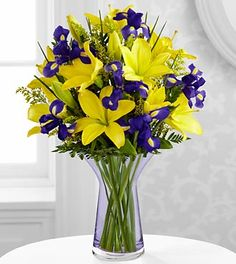 The Touch of Spring® Bouquet by FTD® - VASE INCLUDED- Deluxe