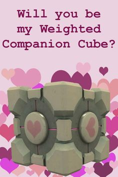 Companion Cube Portal. I started a shirt awhile ago for this. I need to finish making it/ reinforce it so it doesn't fall to pieces.