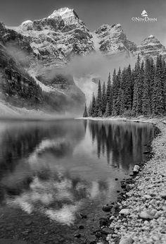 "500px / Photo ""Lake Moraine, Canadian Rockies"" by Patrick Kriner"
