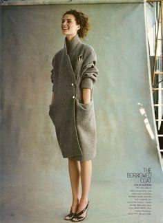 The Looks That Matter magazine: Vogue US, July 2000 photography: Michael Thompson model: Shalom Harlow styling: Grace Coddington