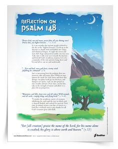 Psalm-Reflection Caring for God's creation Hymns Of Praise, Praise God, Catholic Social Teaching, Sunday Sermons, Wisdom Books, Give Me Jesus, Catholic Prayers, Gods Creation, Happy Heart