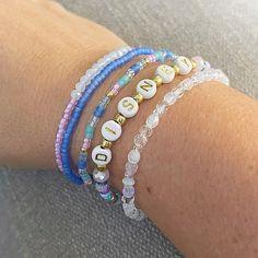 Stack Bracelets, Stackable Bracelets, Stretch Bracelets, Beaded Bracelets, Faceted Crystal, Disney Inspired, 50th Anniversary, Gold Beads, Bracelet Set