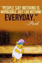 Most memorable quotes fromEeyore, a movie based on film. Find important Eeyore and piglet Quotes from film. Eeyore Quotes about winnie the pooh and friends have inspirational quotes. Eeyore Quotes, Winnie The Pooh Quotes, Winnie The Pooh Friends, Disney Winnie The Pooh, Disney Love, Pooh Bear, Tigger, Best Disney Quotes, Disney Memes