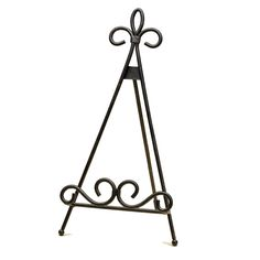 Stylish Solutions Kiera Tabletop Easel. Custom PlatesPlate StandsDecorative ...  sc 1 st  Pinterest & Scroll Style Wrought Iron Easel | MonsterMarketplace.com | @Art ...